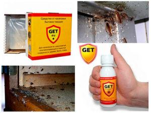 Препарат Гетт от тараканов
